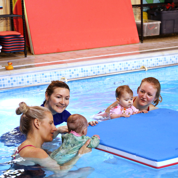 baby swimming lessons at hook swim school