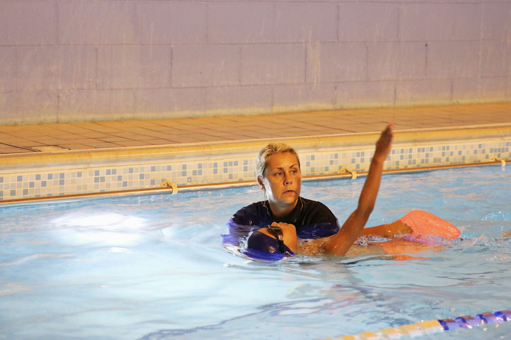Swimming lessons at Hook Swim School