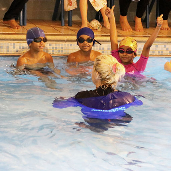 Swimming classes at Hook Swim School